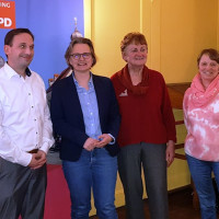 vlnr: Alexander Gutwill, Katja Bröckl-Bergner, Jutta Harrer, Katharina Hintermaier